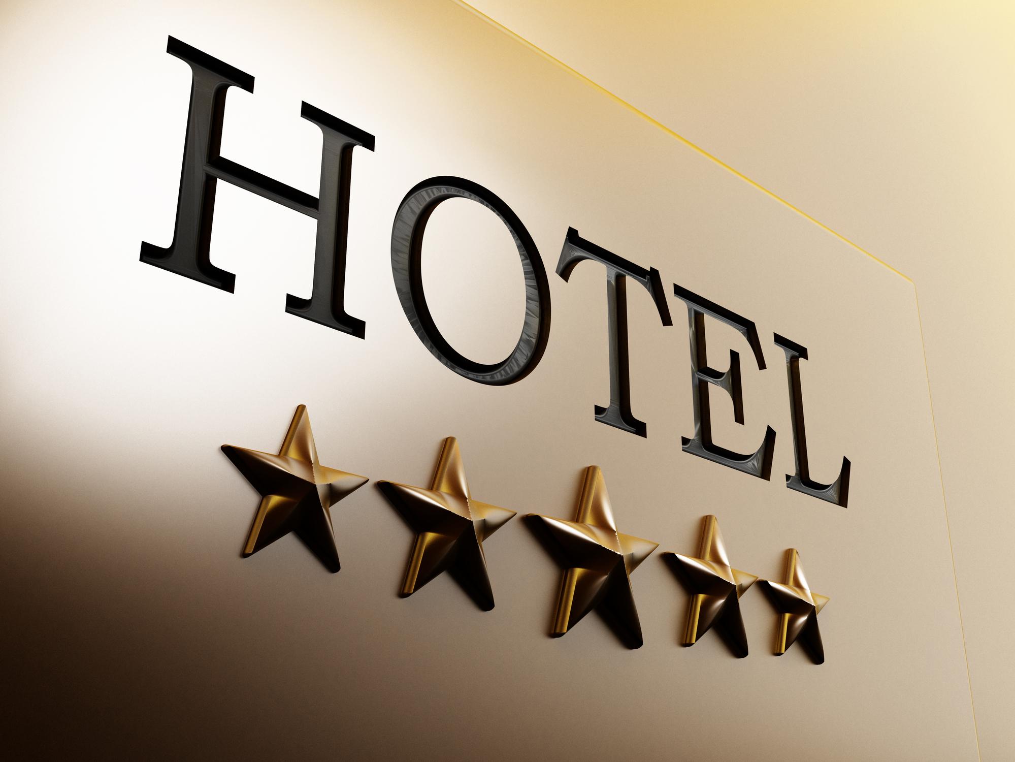 Sterne besagen die Qualität von Hotels
