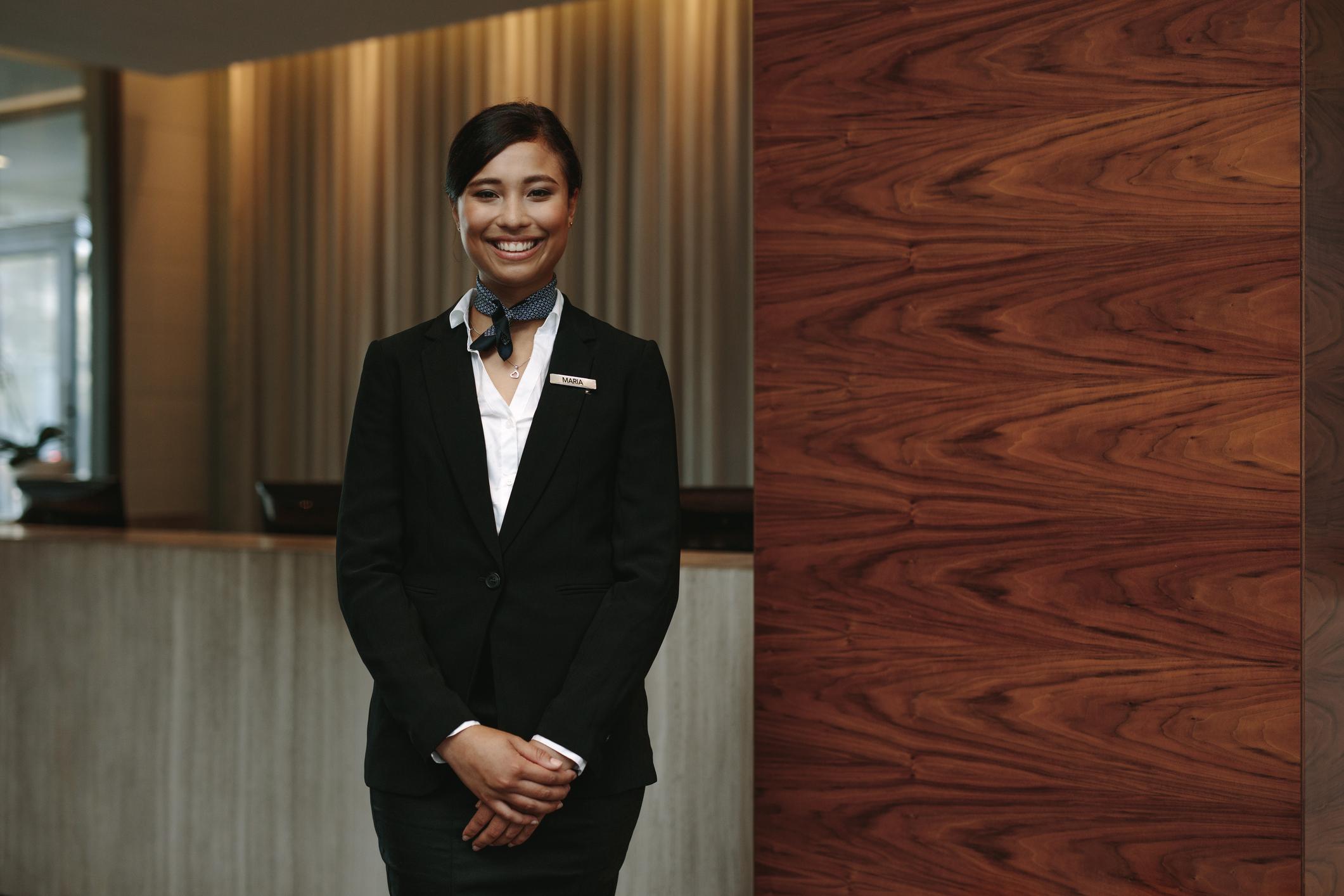Gute Hotels bieten einen Concierge